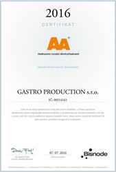 AA certifikát důvěry