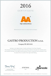 AA Certificate